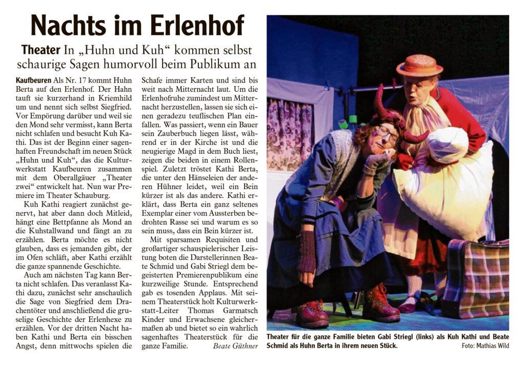 Allgäuer Zeitung, 26.06.2018